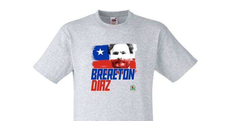 Locura por Brereton llega a Inglaterra: Blackburn Rovers lanza línea de camisetas con su rostro