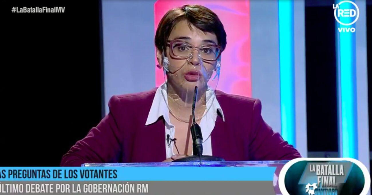 Naya Fácil fue detenida recientemente por Carabineros tras infringir las normas sanitarias. LA RED