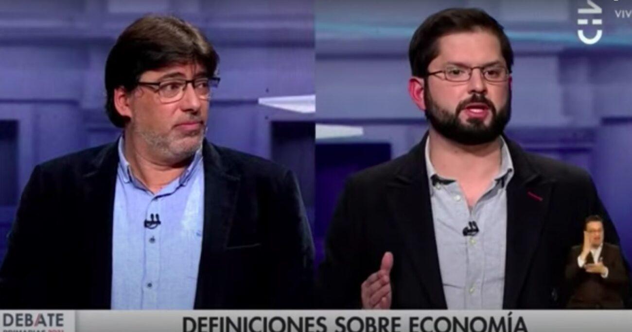 Las declaraciones ocurrieron en el segundo debate presidencial organizado por CNN Chile. CAPTURA