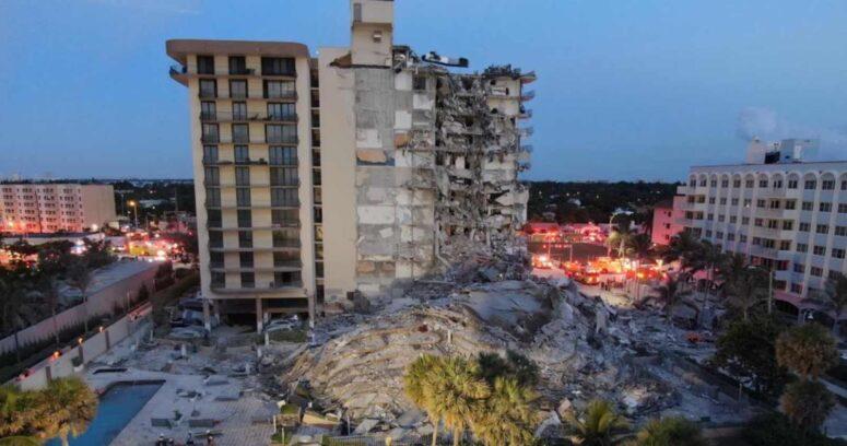 Edificio de 12 pisos se derrumba en Miami