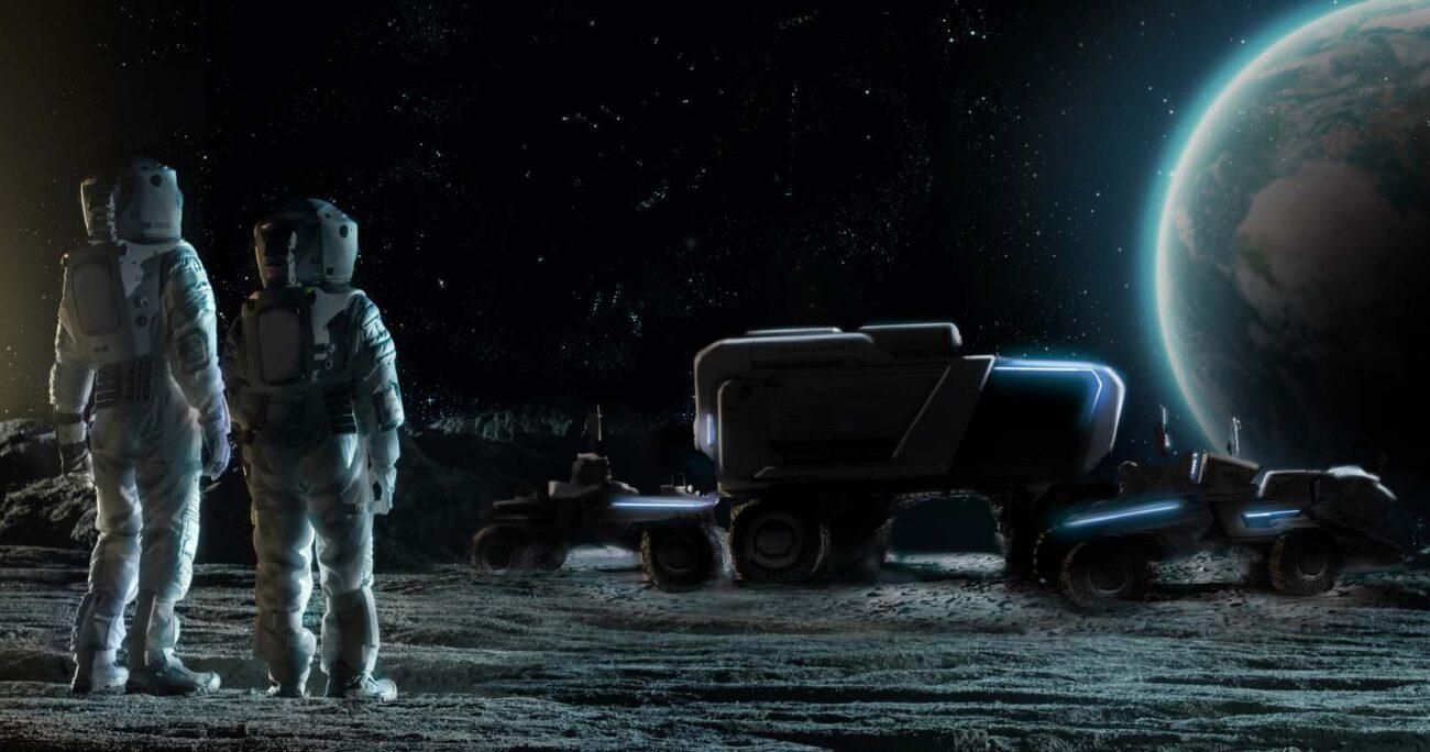 Los vehículos lunares de esta nueva generación están siendo diseñados para atravesar distancias considerablemente mayores. GM/Lockheed Martin