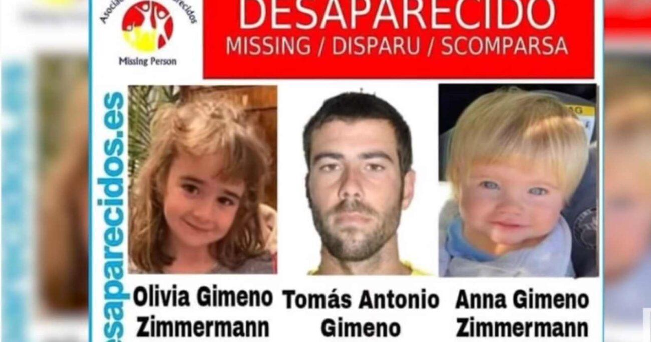 El padre de las menores de edad fue visto por última vez cargando su lancha con varias bolsas.