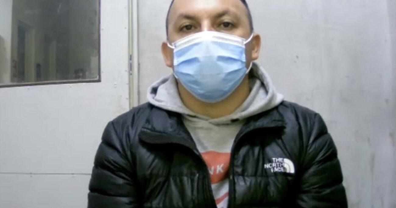 El imputado será trasladado hasta el penal Santiago Uno para cumplir con la medida cautelar de prisión preventiva. TWITTER