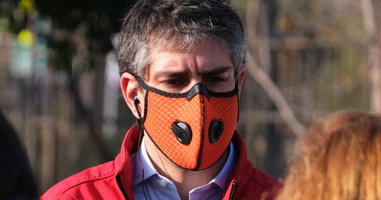 José Manuel Palacios, alcalde de La Reina, hizo el llamado al Ejecutivo. AGENCIA UNO