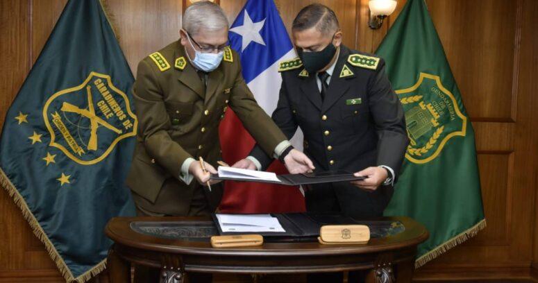 """""""Carabineros y Gendarmería firman convenio que busca frenar delitos organizados desde la cárcel"""""""