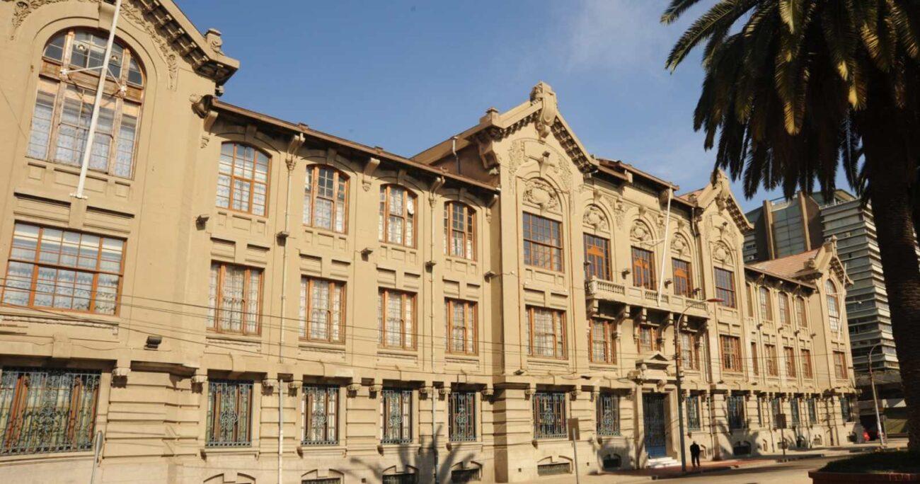 La institución quedó entre las cinco primeras del país. PUCV