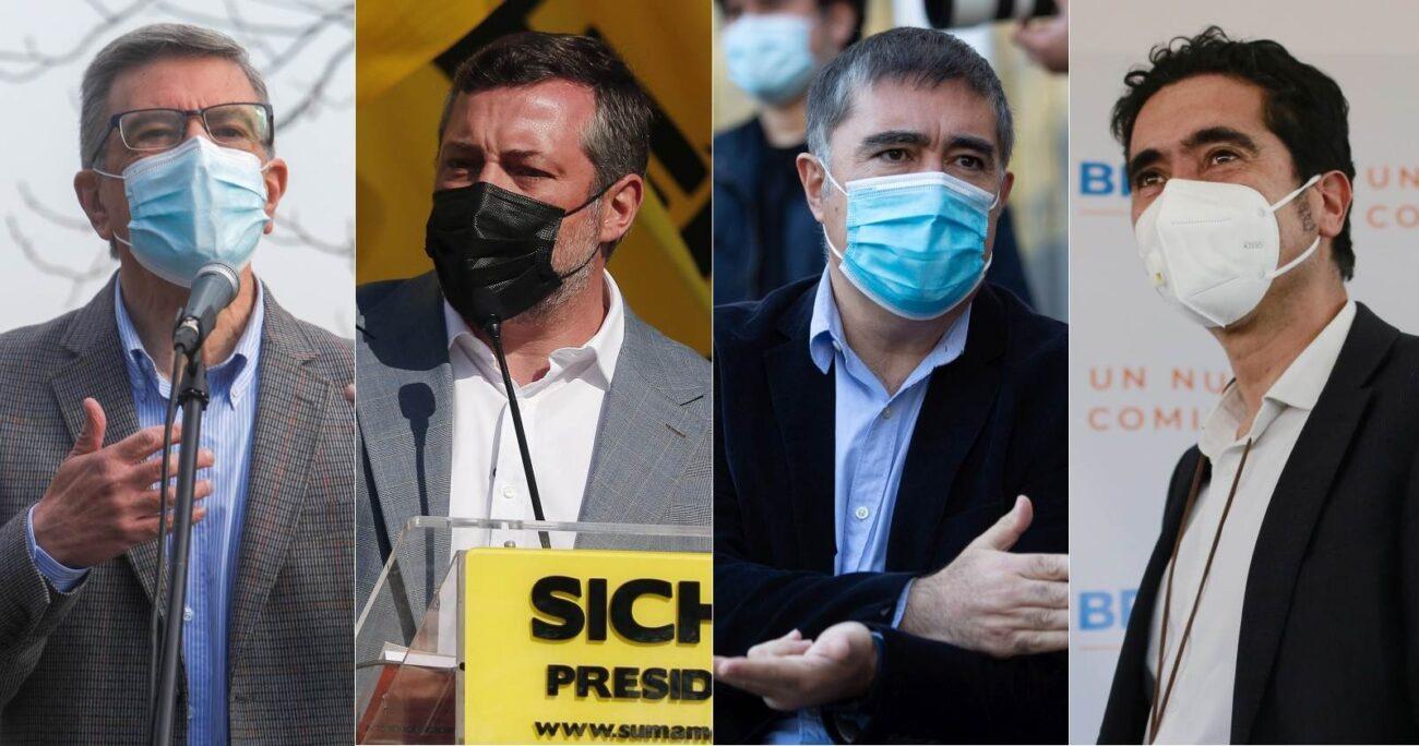 Sichel y Briones iniciaron sus campañas desde regiones. AGENCIA UNO/ARCHIVO