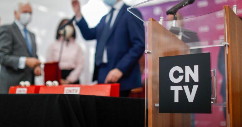 """""""Presidenta del CNTV por inicio de franja electoral de primarias:"""