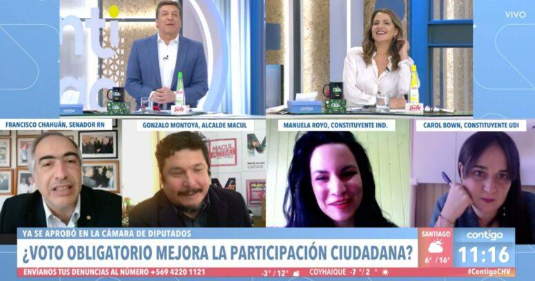 El trolleo de Julio César Rodríguez a Francisco Chahuán por comentario autoreferente
