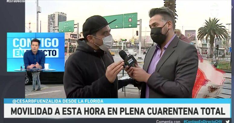 La furia de Humberto Sichel con discurso antivacuna en Contigo En Directo