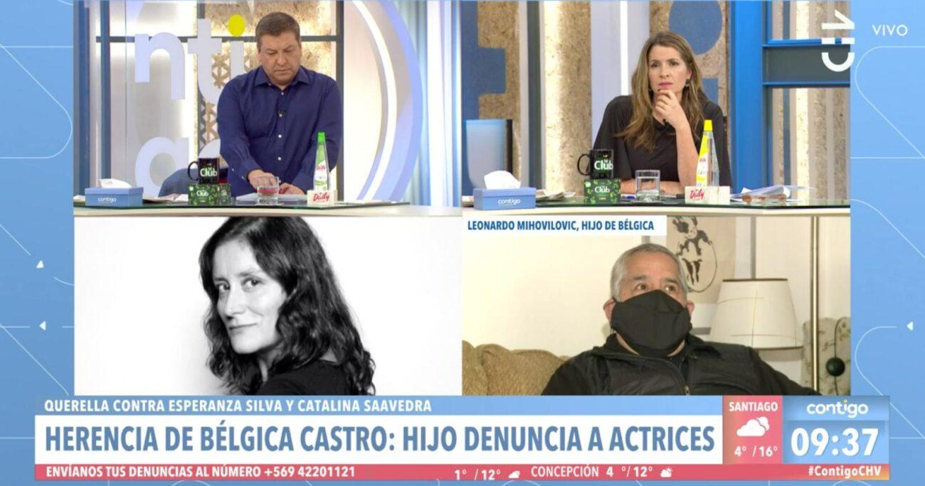 La pugna entre ambas partes se debe a un departamento en el que vivieron Bélgica Castro y Alejandro Sieveking.
