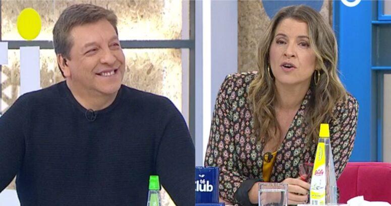 """Monserrat Álvarez aclaró por qué Julio César Rodríguez tuvo que retirarse antes del matinal"""
