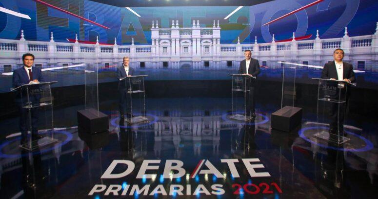 """""""Debate presidencial de Chile Vamos transmitido por CHV y CNN Chile lideró en sintonía"""""""
