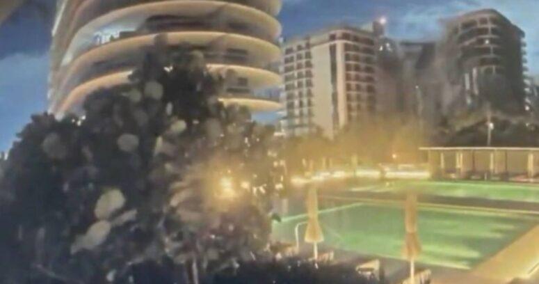 VIDEO – Así fue el momento del impactante derrumbe del edificio en Miami