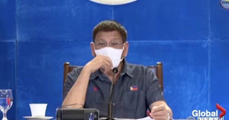 Presidente de Filipinas amenaza con encarcelar a quienes no se vacunen contra el COVID-19