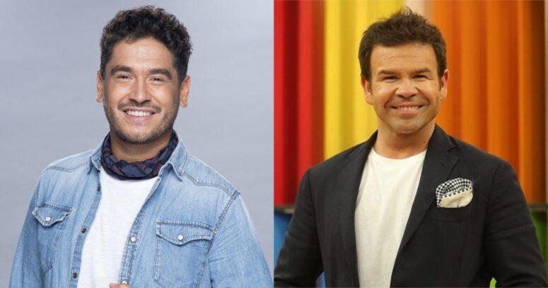 Gino Costa salió al paso de los rumores y aclaró su relación con Ignacio Gutiérrez en matinal de TVN