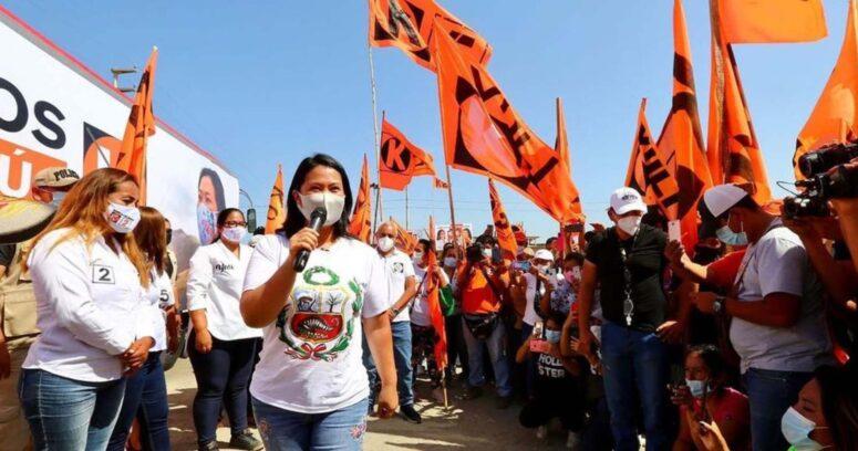 """""""Recuento de votos en Perú: Keiko Fujimori acusa"""