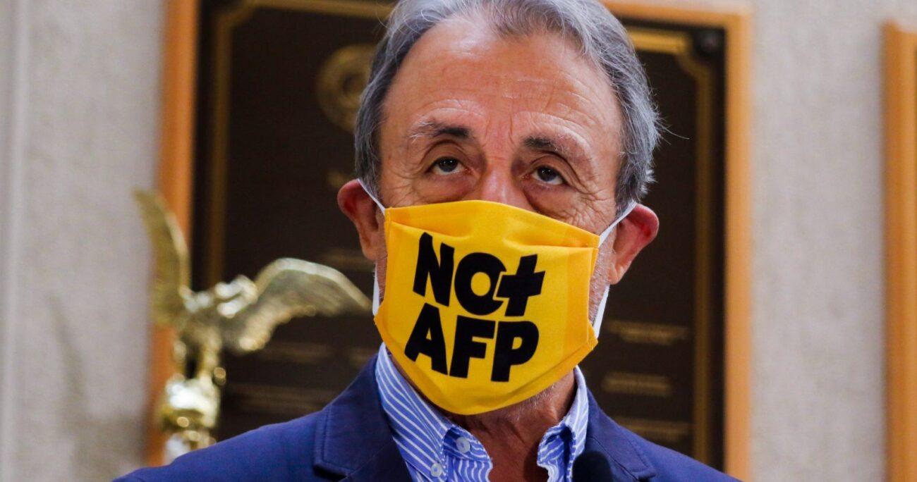 El líder del movimiento No+AFP acusó de populismo al diputado UDI. AGENCIA UNO/ARCHIVO