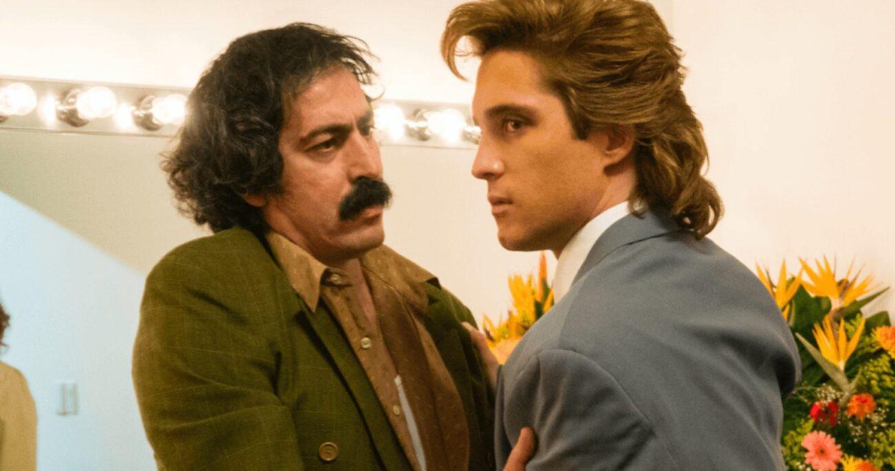 Martín Bello interpretó al tío de Luis Miguel en la serie. NETFLIX