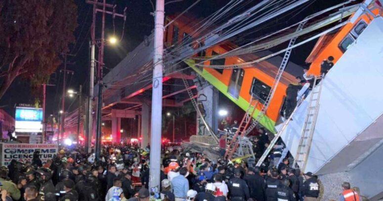 Derrumbe en metro de México: informes apuntan a falla en la infraestructura
