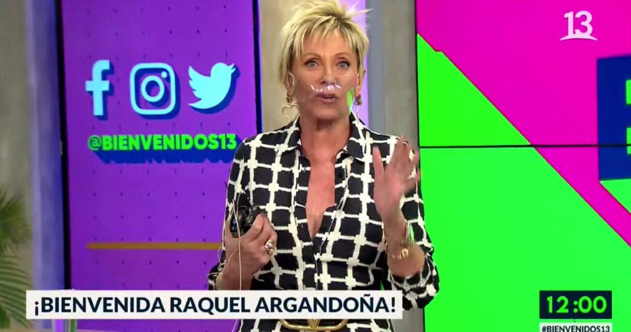 Argandoña ya había anticipado su aparición en redes sociales.