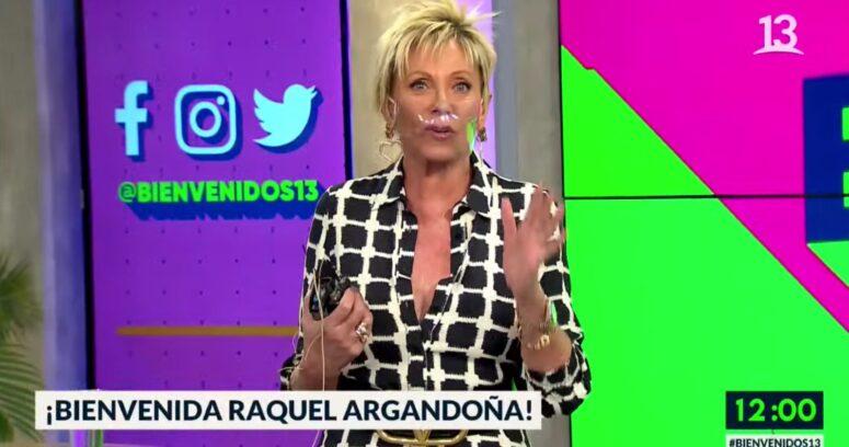 """""""Raquel Argandoña regresó al Bienvenidos después de tres meses"""""""