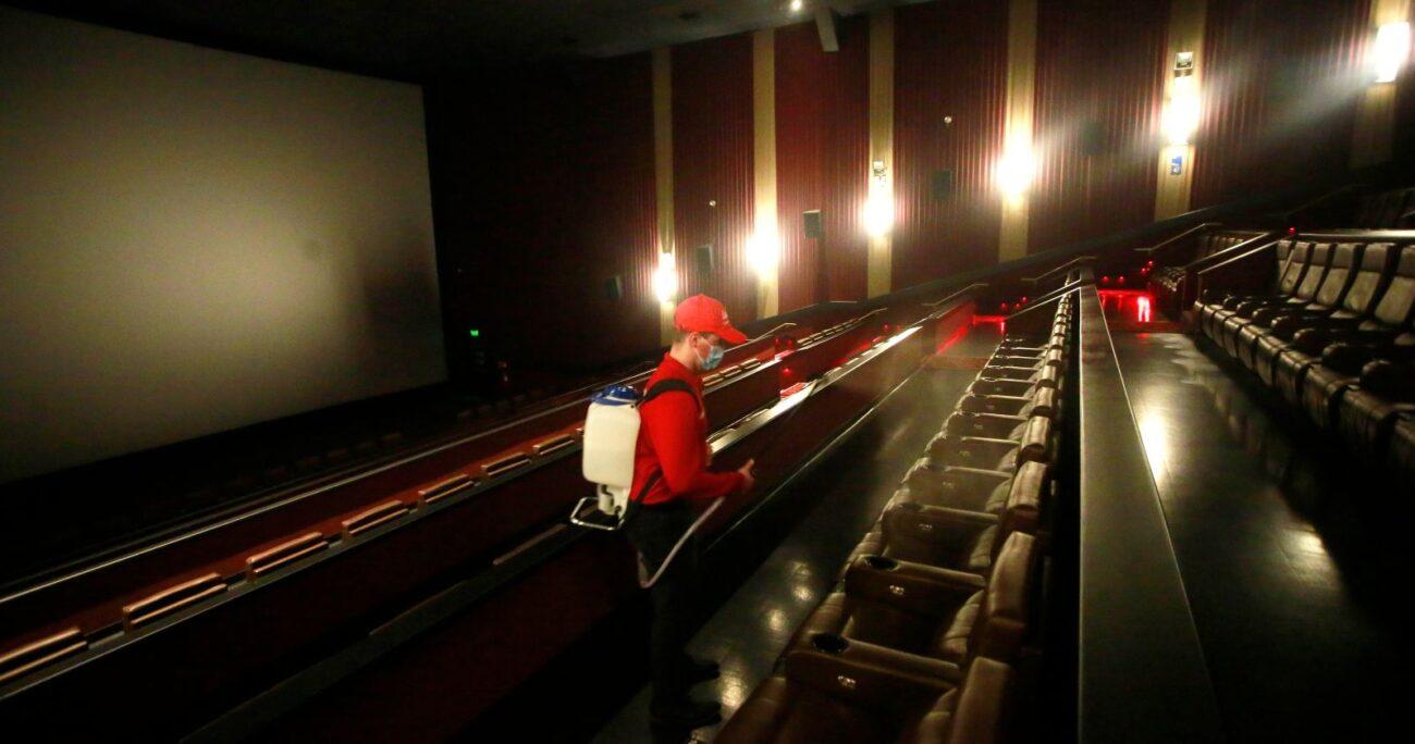 Las salas de cine tuvieron una breve reapertura en verano, pero han estado prácticamente cerradas en el último año. AGENCIA UNO/ARCHIVO