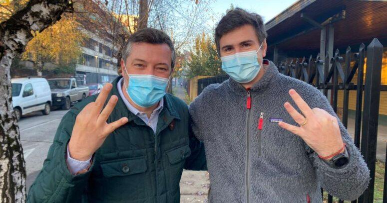 Diego Paulsen se distancia de Desbordes y entrega su apoyo a Sebastián Sichel