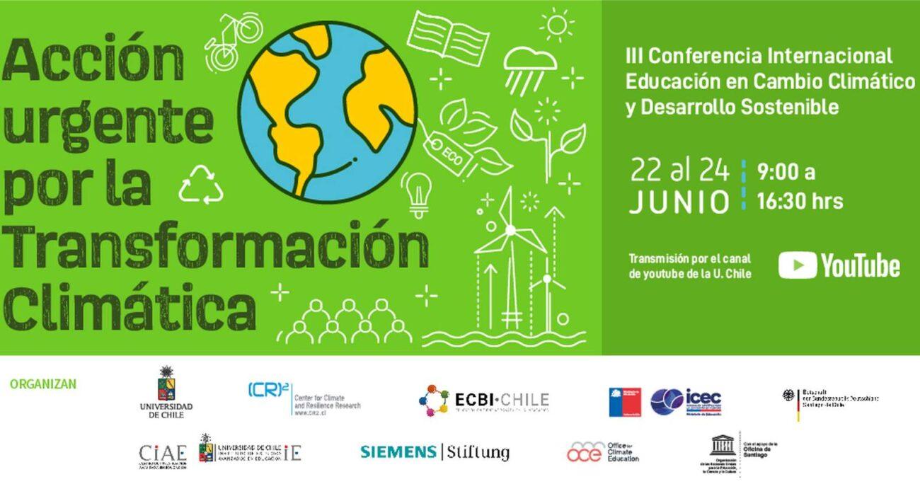 El evento se desarrollará de forma remota. U. DE CHILE