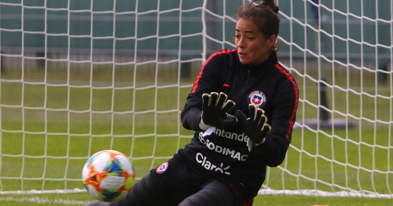 La arquera evitó continuar con la polémica por su marginación de la Selección. AGENCIA UNO/ARCHIVO