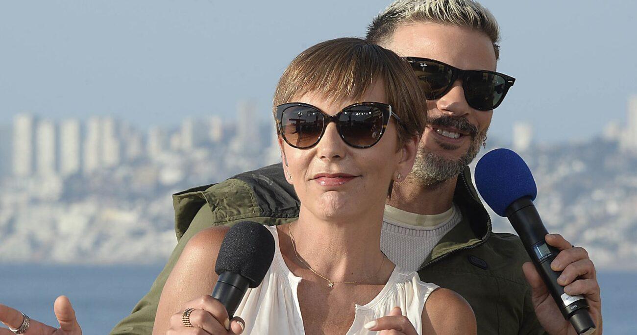 García-Huidobro desclasificó los desencuentros que tuvo con la abogada, cuando ambas eran parte de Chilevisión en 2017. AGENCIA UNO/ARCHIVO