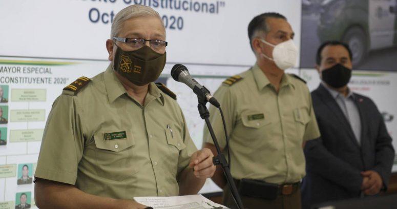 """""""Amnistía Internacional pide investigar a generales de Carabineros por violaciones a los DD.HH."""""""