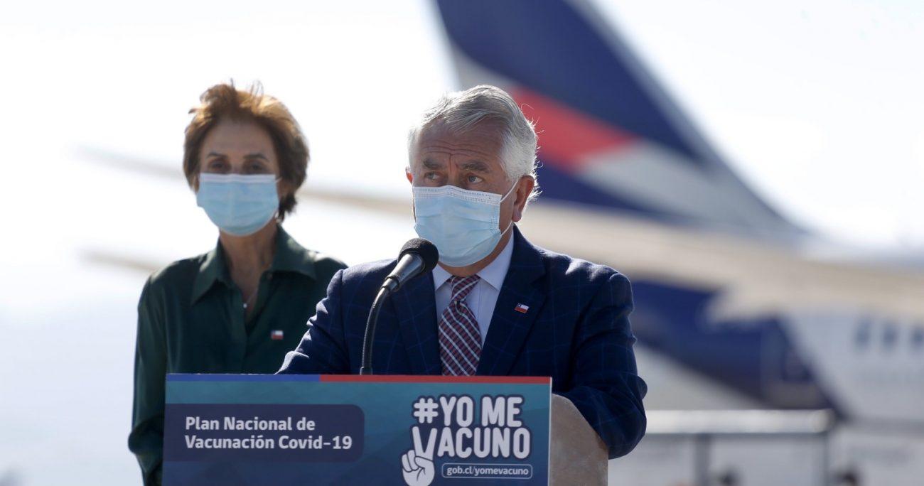 El secretario de Estado recibió un nuevo cargamento de vacunas Pfizer. AGENCIA UNO/ARCHIVO