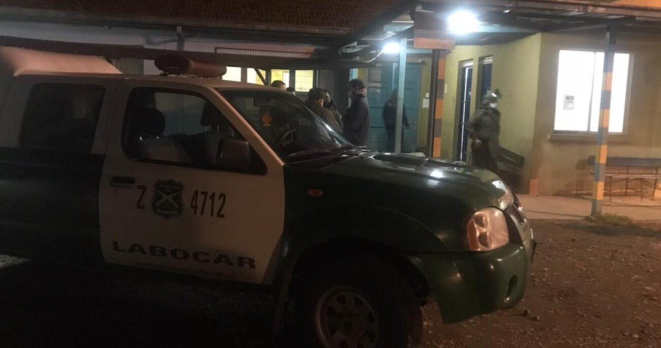 El hecho ocurrió en las cercanías del sector Casa Piedra, en La Araucanía. AGENCIA UNO/ARCHIVO