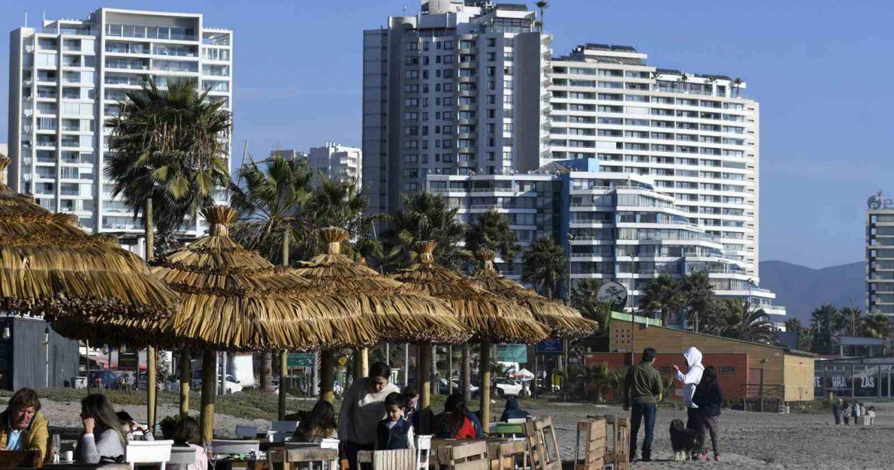 Según la la encuesta Barómetro Imagen-Ciudad 2020, las mejores ciudades para vivir en Chile son: Valdivia, Viña del Mar y La Serena. AGENCIA UNO/ARCHIVO