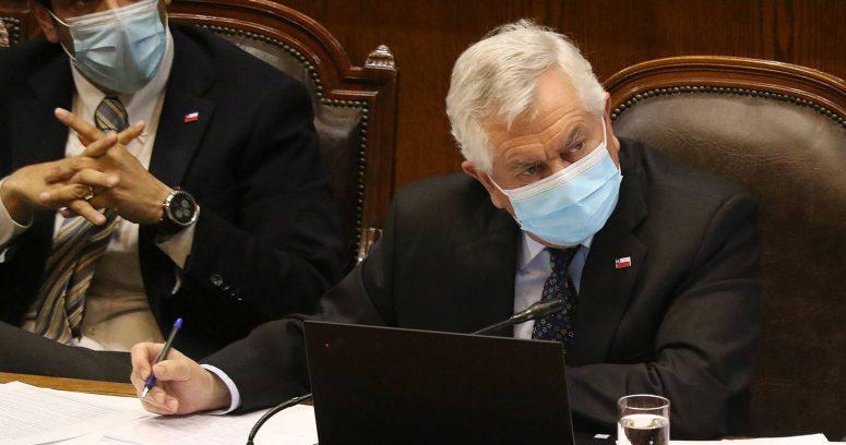 """Ministro Paris será interpelado este martes por la Cámara de Diputados"""