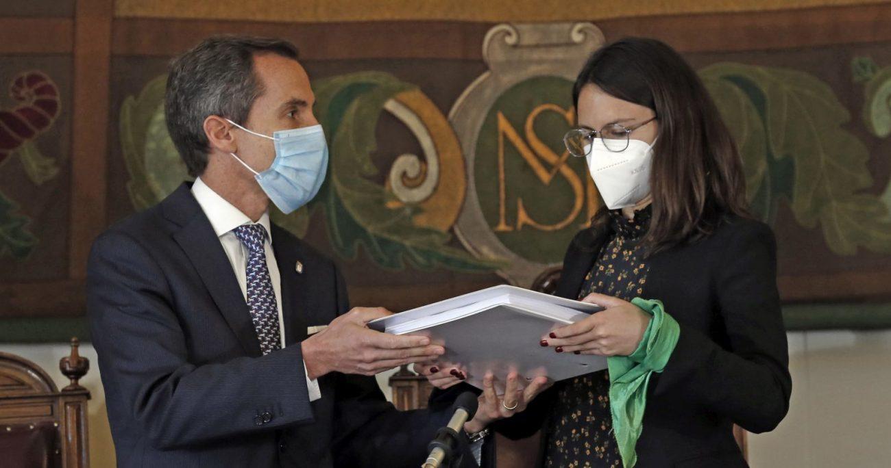El militante de RN perdió la reelección frente a la actual alcaldesa del PC. AGENCIA UNO/ARCHIVO