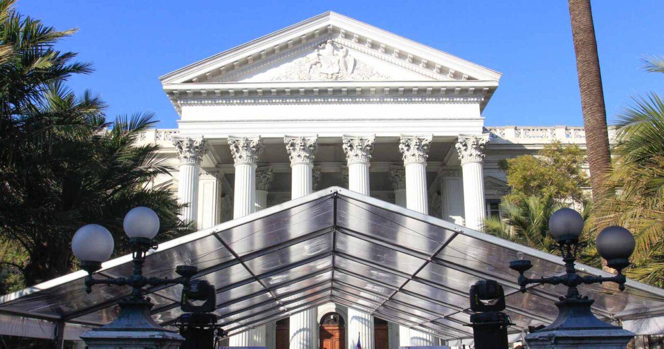 Los 155 constituyentes juraron en el ex Congreso de Santiago. AGENCIA UNO