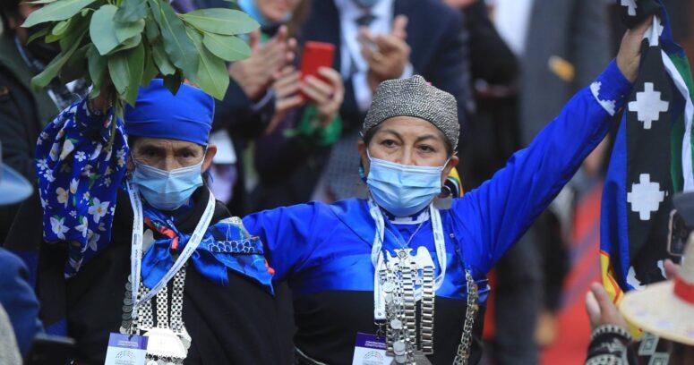 """""""CAM contra presencia de mapuches en la Convención:"""