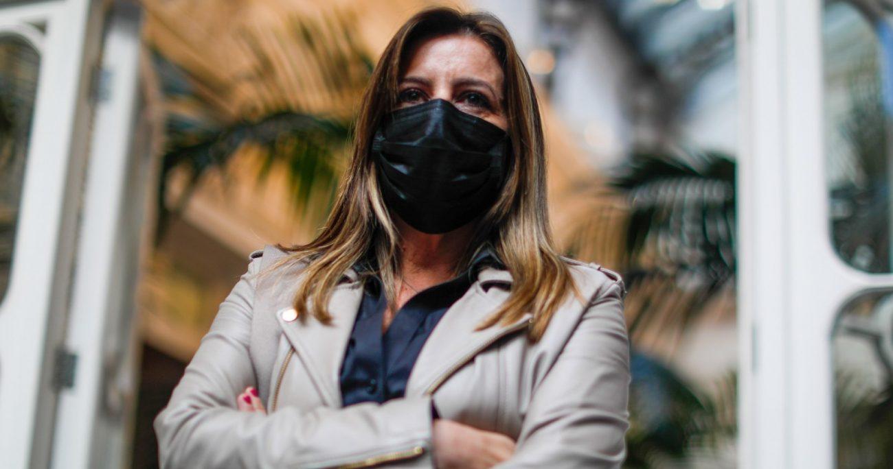 Marinovic fue interpelada en vivo por la constituyente María Ramona Reyes. AGENCIA UNO/ACHIVO
