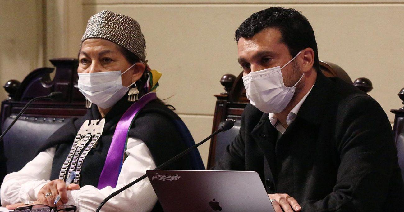 La directiva de la constituyente reclamó por las malas condiciones con las que han debido sesionar. AGENCIA UNO/ARCHIVO