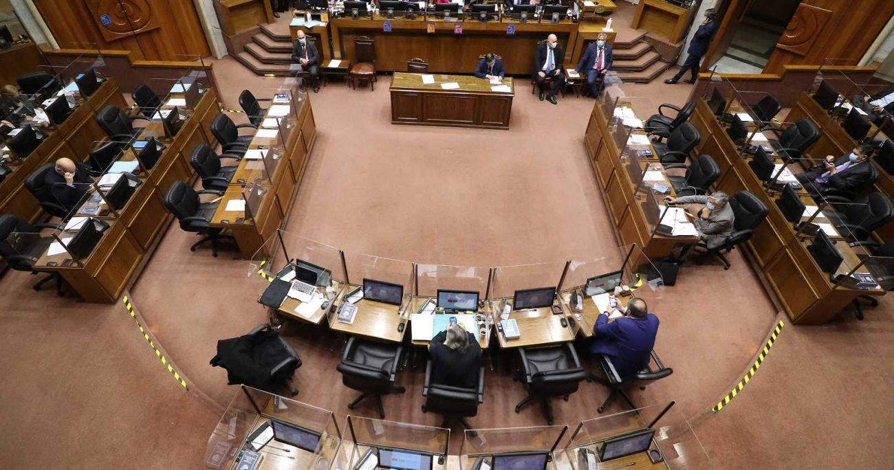 La iniciativa fue objeto de varias indicaciones durante su trámite en particular en la Comisión de Constitución del Senado, la mayoría de las cuales fue rechazada. AGENCIA UNO/ARCHIVO