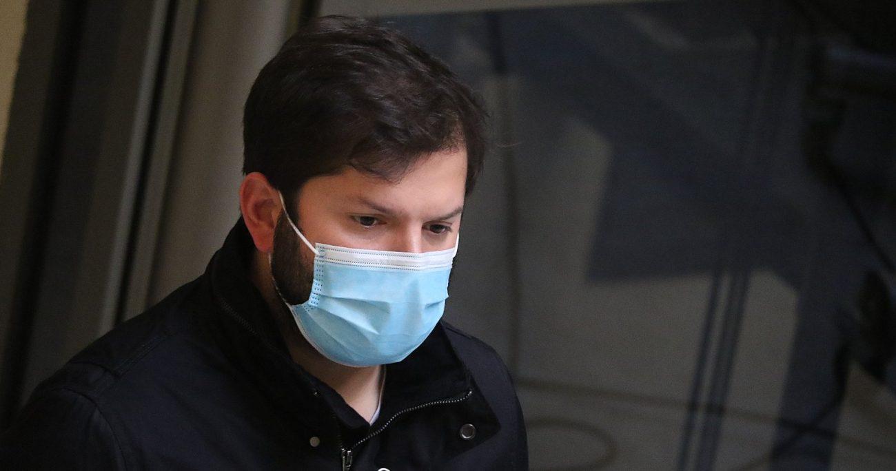 El parlamentario, según Gendarmería, recibió un golpe en la cara. AGENCIA UNO/ARCHIVO