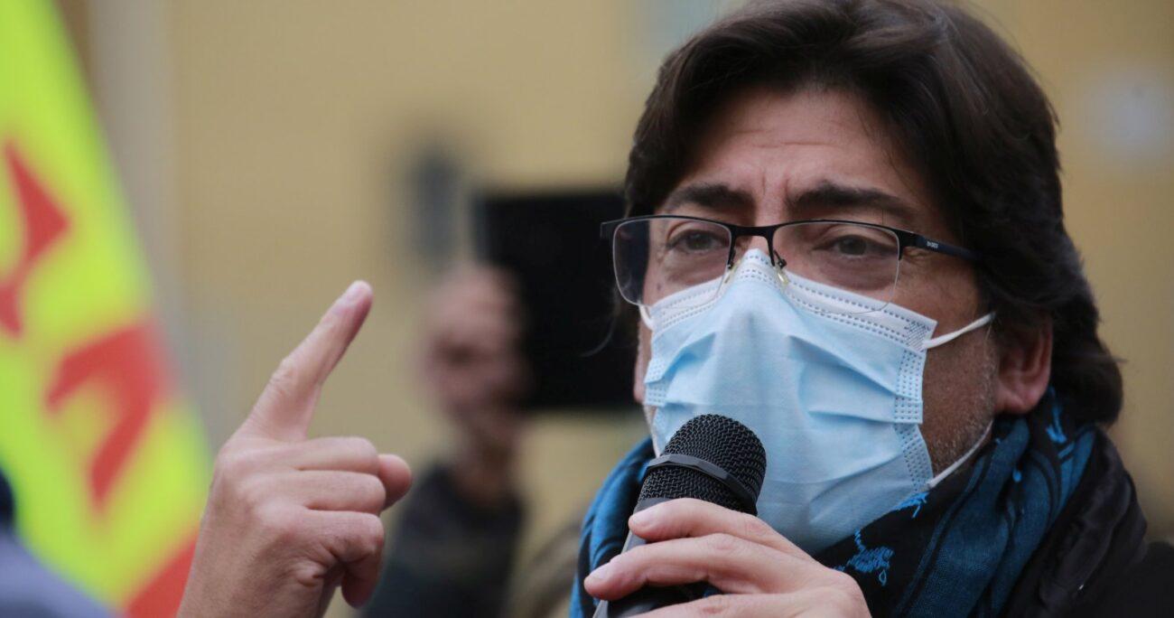 El alcalde de Recoleta mencionó la votación de la ley antibarricadas durante el estallido social. AGENCIA UNO
