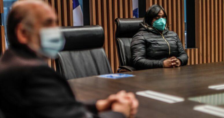 """""""La reflexión de Fabiola Campillai tras reunión con fiscal nacional:"""