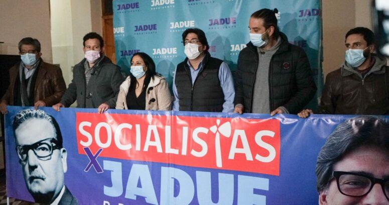 """""""Jadue recibe apoyo de colectivos socialistas que no pueden votar por él el domingo"""""""
