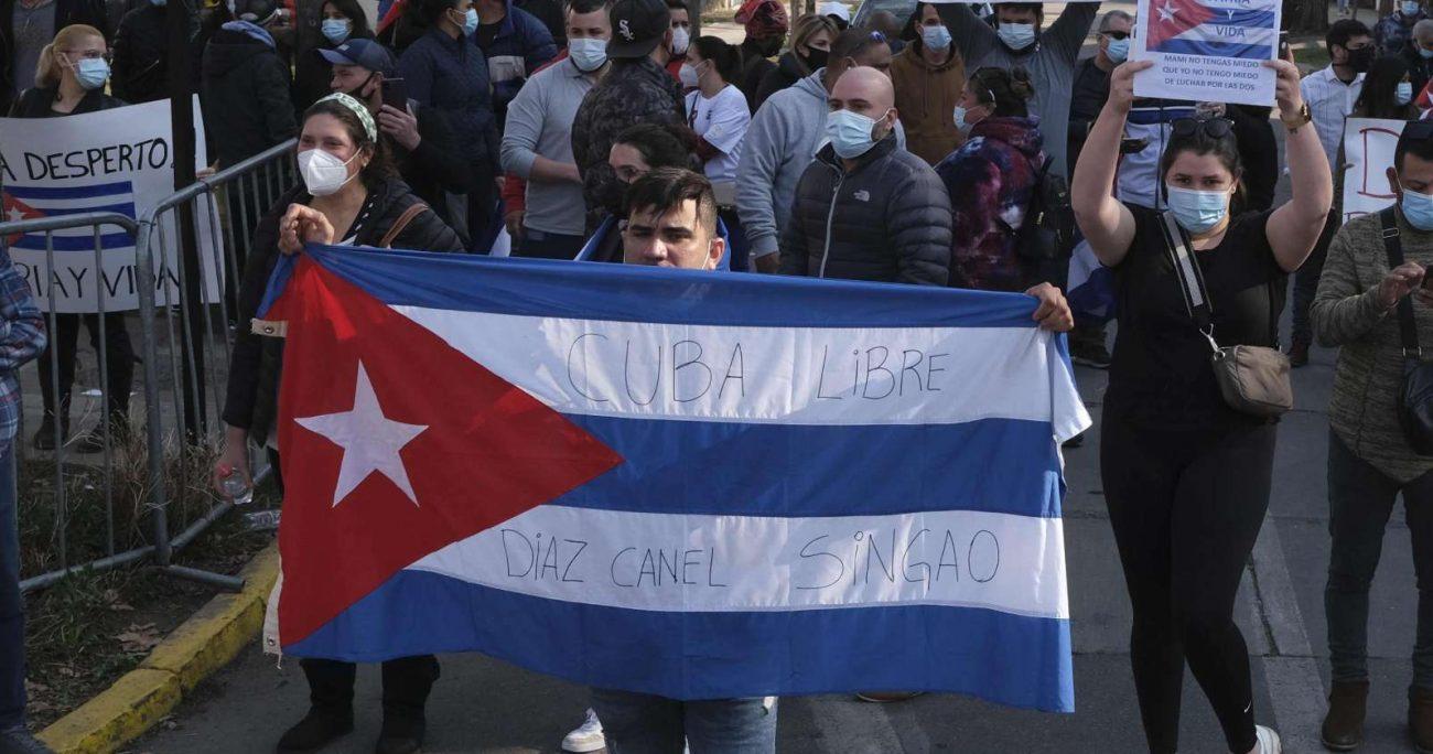 Michelle Bachelet pidió al régimen cubano que libere a los detenidos, respete la libertad de expresión y restaure el acceso a internet. ARCHIVO/AGENCIAUNO
