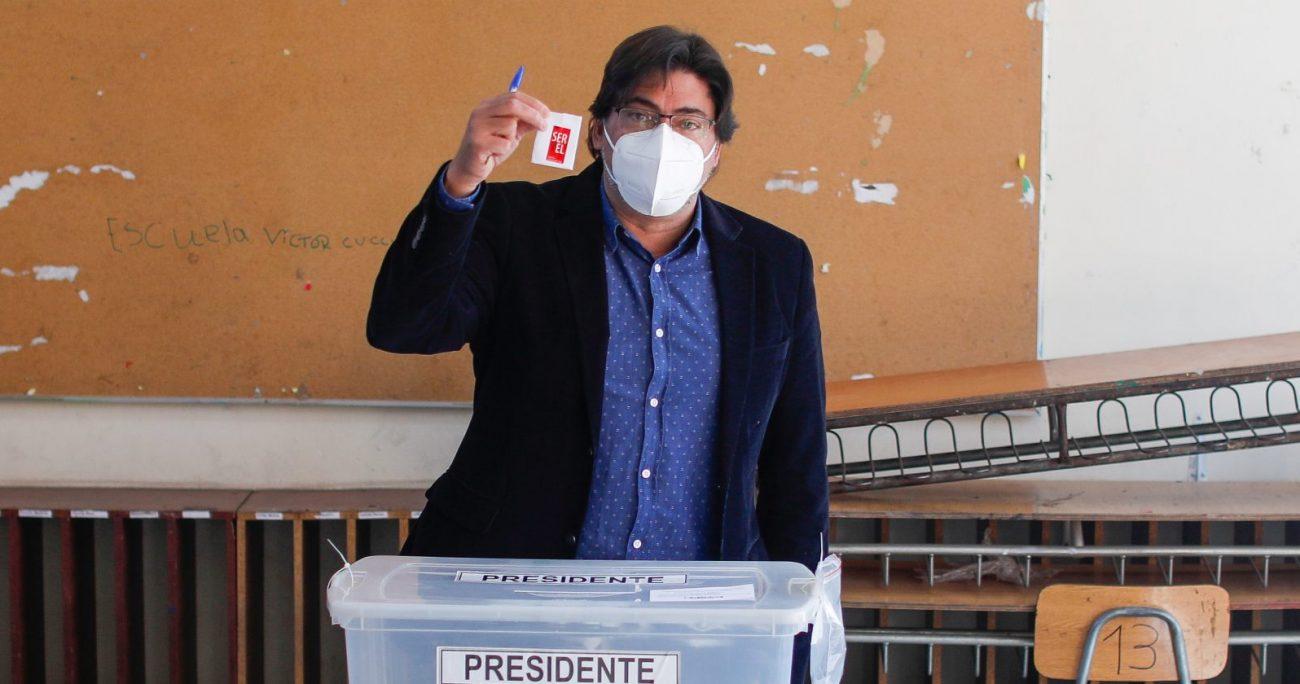 Jadue compite contra Gabriel Boric en la primaria de Apruebo Dignidad. AGENCIA UNO.