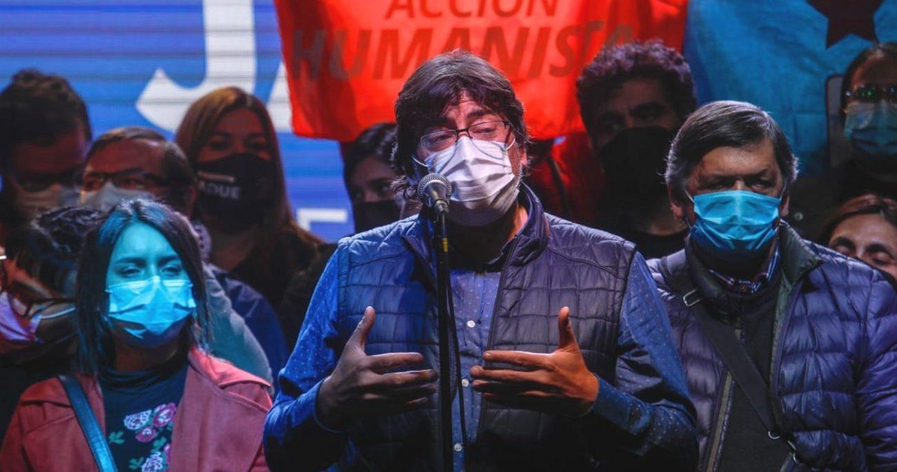 El jefe comunal quedó fuera de la carrera presidencial tras perder las primarias ante Gabriel Boric. AGENCIA UNO/ARCHIVO