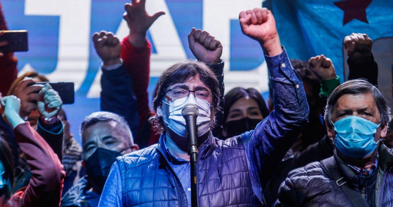 El alcalde de Recoleta fue superado en la primaria por el diputado del FA. AGENCIA UNO/ARCHIVO